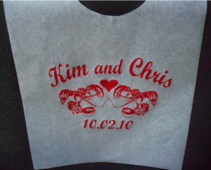 Personalized Lobster Bibs Bing Images