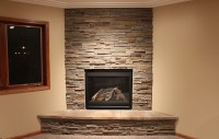 Fireplace Face - Brick & Stone Masonry by SANDSTONE INC