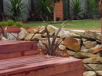 Sandstone landscaping rocks Castlemaine | landscaping with ...