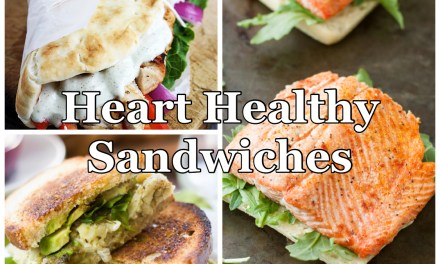 Hearty Healthy Sandwiches for February Sandwich Night