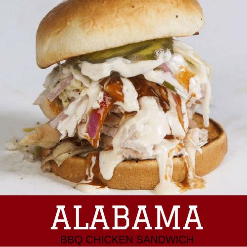 Alabama BBQ Chicken Sandwich: National Championship Sandwiches