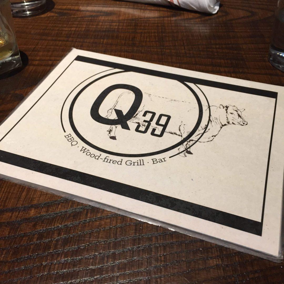 Q39 Menu