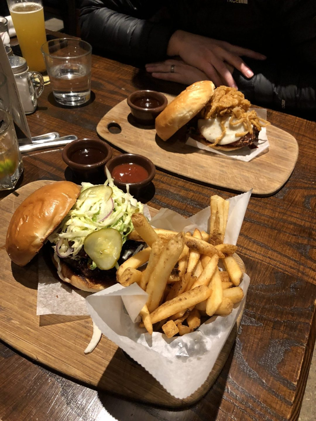BBQ Sandwiches and Burgers