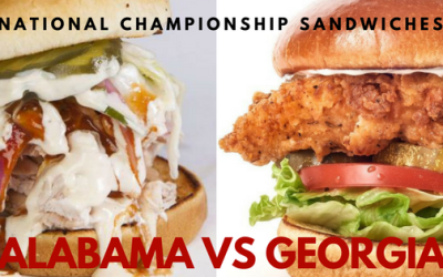 Celebrating National Championship Sandwiches