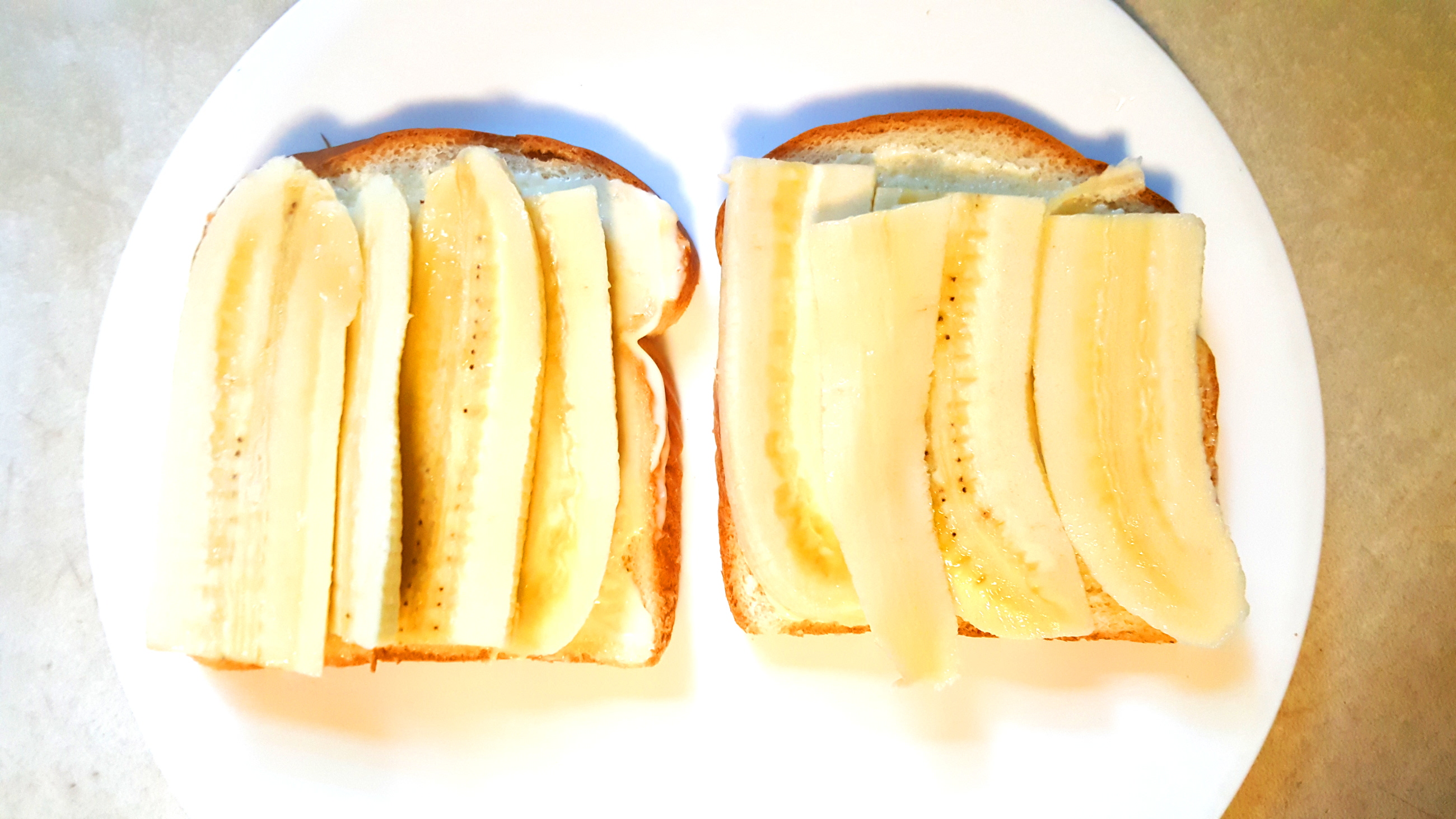 Fruit Sandwich #1: The Whitest Sandwich Ever