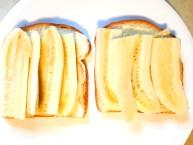 Banana mayo sandwich