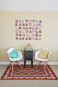 Instagram Wall Art with Washi Tape | DIY | SandyALaMode