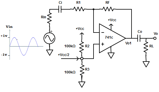 ac amplifiers with single supply voltage mcqs