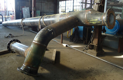 Stainless Steel Fabricated Pipe Fittings Carbon Steel
