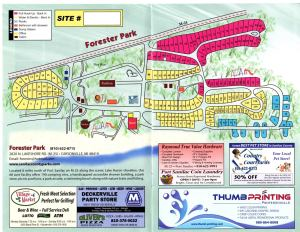 Forester Park Map