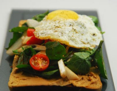 Peanut Butter Toast with Fried Egg Non Vegetarian Recipe | FoodFood | Sanjeev Kapoor Kitchen by ...