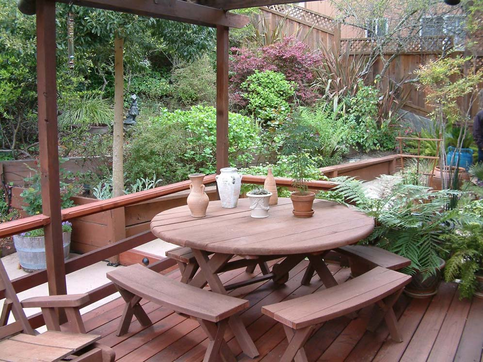 Redwood Patio Furniture