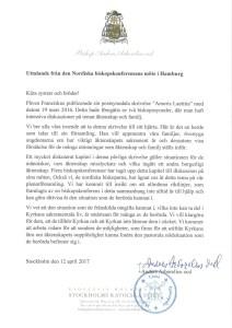 thumbnail of uttalande fr den Nordiska biskopskonf. möte i Hamburg