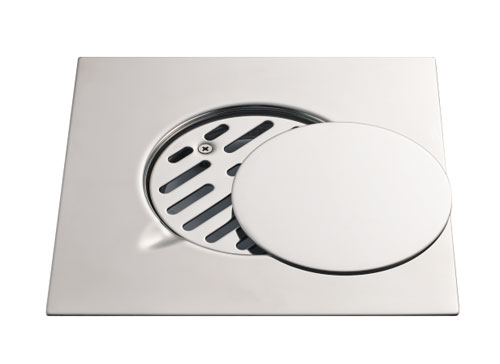 Square Floor Trap Drain Cover for Hotel Projects