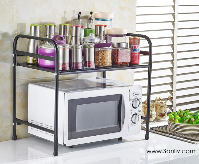 Kitchen Storage Shelves And Racks Kitchen Wire Storage
