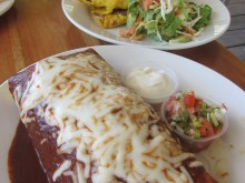 Lunch at Wild Mango's, San Pedro, Belize
