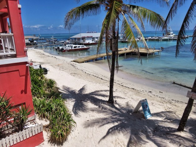 View from Fido's San Pedro Belize