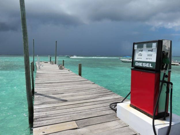 rain-on-the-gas-station-dock