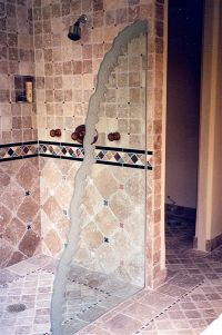 Decorative Glass for the Bathroom adds a Custom Flair ...