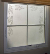 frosted glass window - Sans Soucie Art Glass