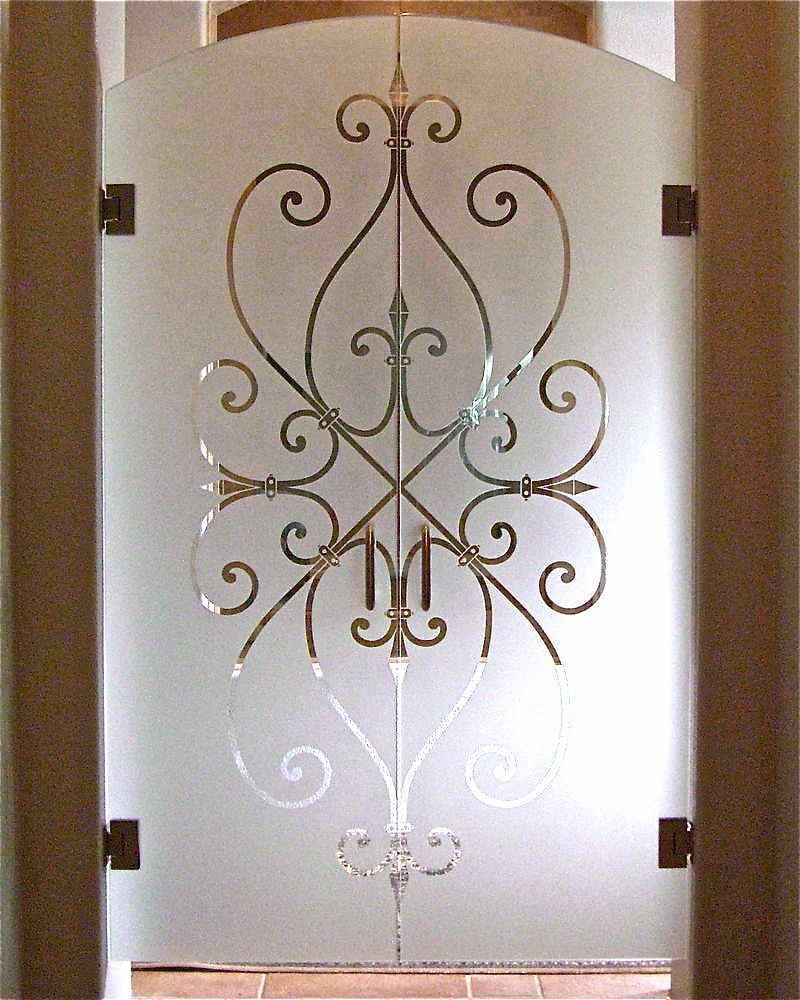etched glass interior doors