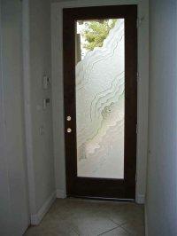 front door glass - Sans Soucie Art Glass