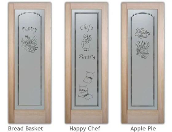 etched glass pantry door