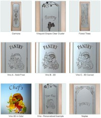 pantry glass - Sans Soucie Art Glass