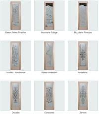 glass pantry doors - Sans Soucie Art Glass