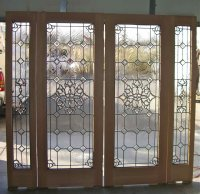 Door Insert & Stained Glass Door Inserts And Wrought Iron