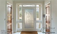 A Tropical Getaway with Glass Entry Doors - Sans Socuie