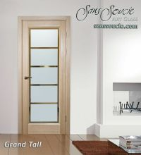 frosted interior glass doors - Sans Soucie Art Glass