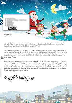 Santa Letter Direct - Personalised Letters From Santa Claus
