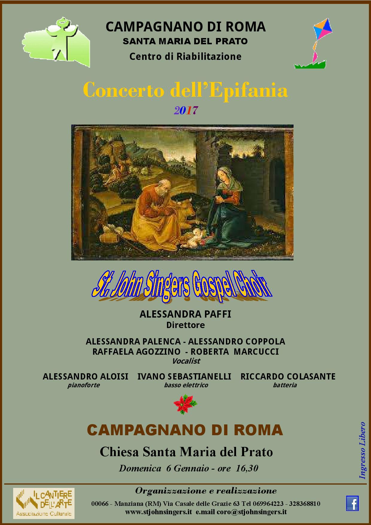 Concerto dell'Epifania 2017