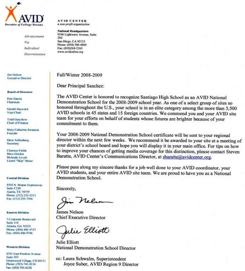 Info u2013 AVID u2013 Santiago High School - avid tutorial request form