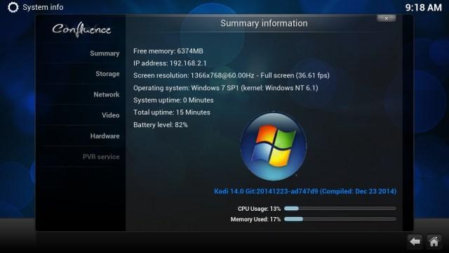 kodi windows