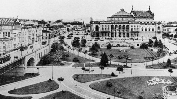 Theatro Municipal de São Paulo no início do século XX