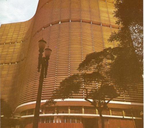 O Edifício Copan nos anos 70.