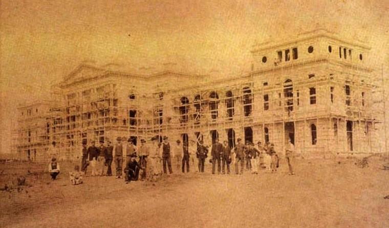 Museu do Ipiranga em 1888