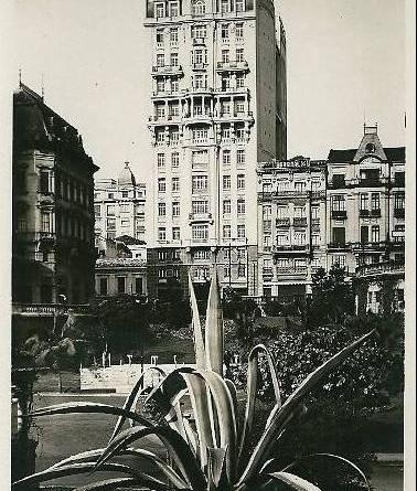 Edifício Sampaio Moreira na década de 20
