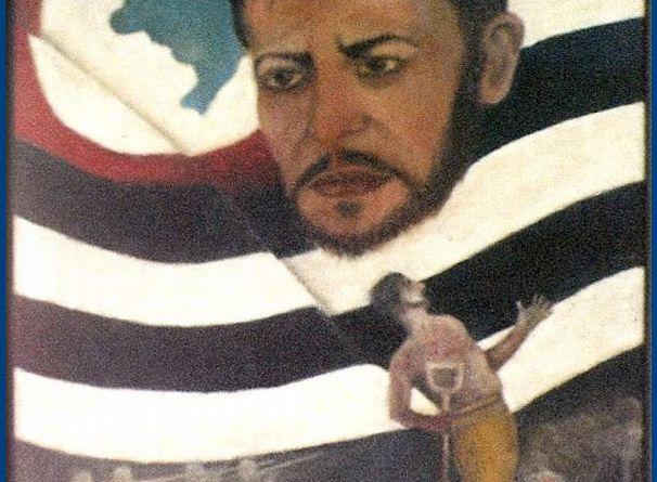 Alegoria-a-Paulo-Virgínio-em-óleo-sobre-tela-pelo-artista-cachoeirense-Nelson-Lorena.-Do-acervo-da-Família-Lorena.