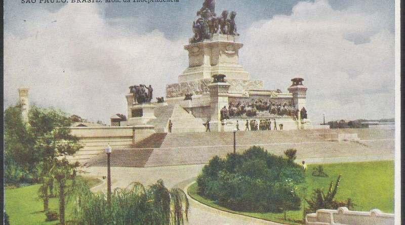 Cartão Postal do Monumento À Independência sem data.