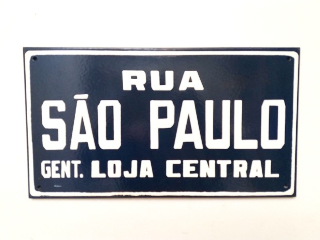 Placa antiga sp
