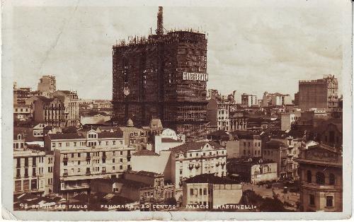 Martinelli época da construção 1927