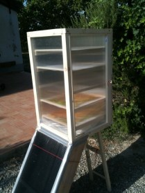 Essicatore solare autocostruito