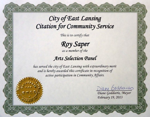 community service award certificate template - Example Of Certificate Of Service