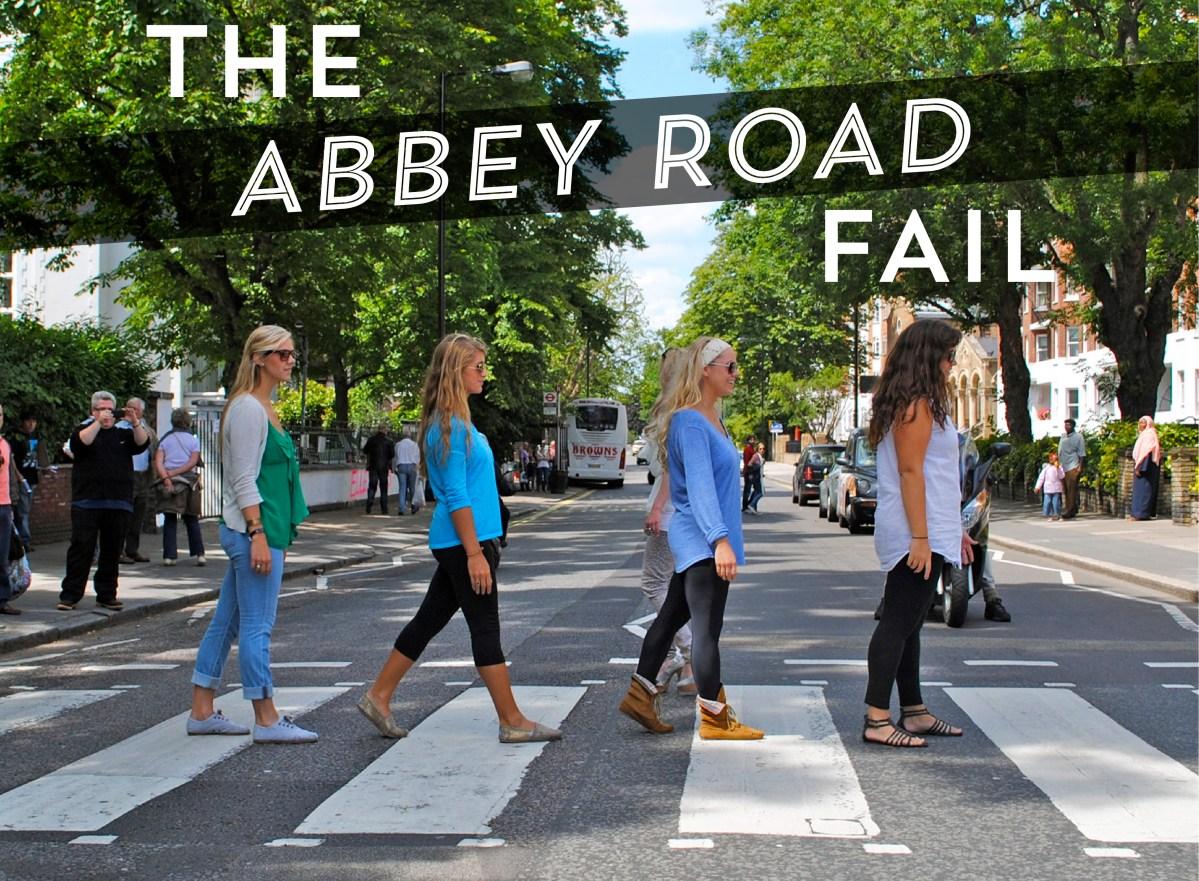 """The """"Abbey Road Fail"""""""