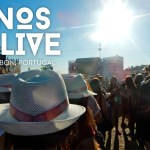 Nos Alive Music Festival in Lisbon, Portugal