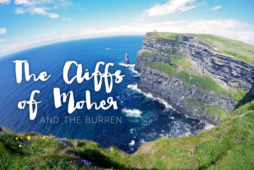 Cliffs of Moher + The Burren Tour