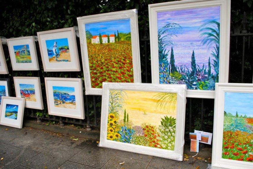 Merrion Square Art Market